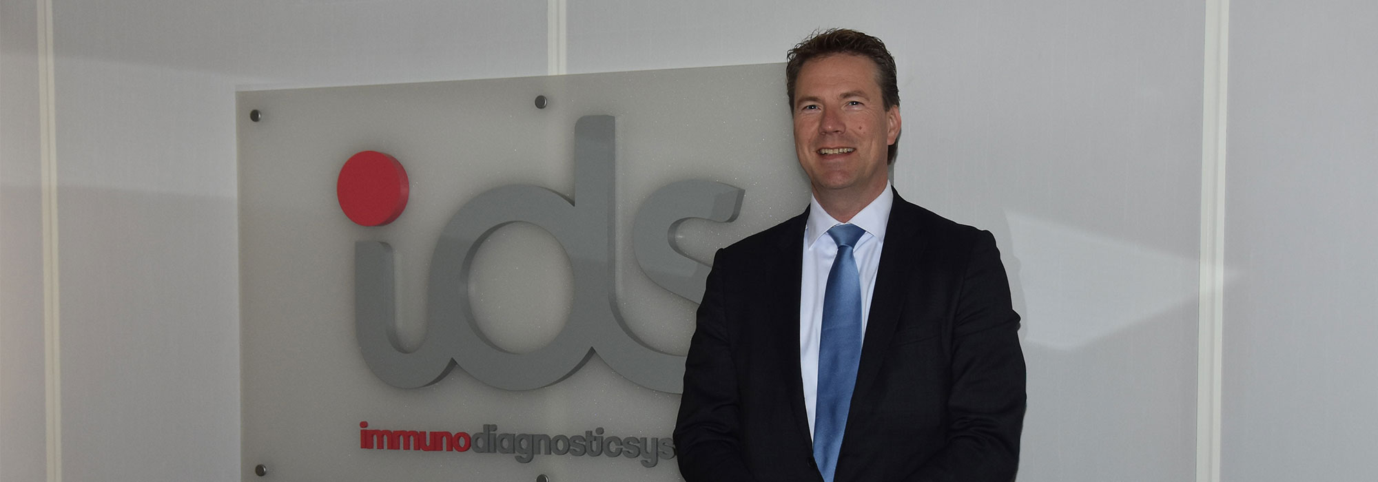 Jaap Stuut, the Group CEO of Immunodiagnostic Systems (IDS)